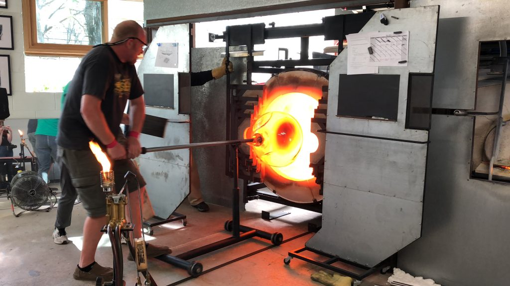 Large Re-heating Chamber