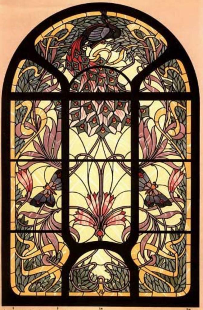 Example of Art Nouveau Glass