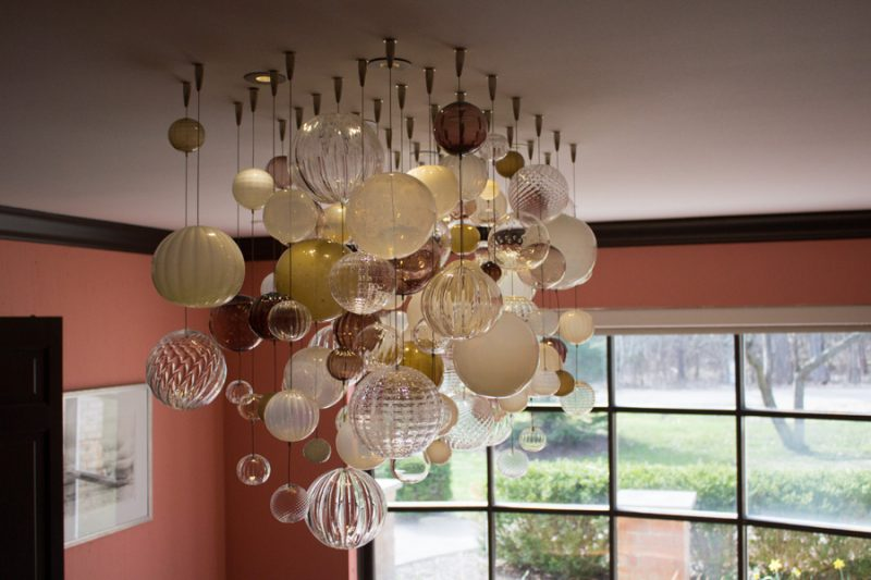 Whiskey & Ivory Bubble Chandelier
