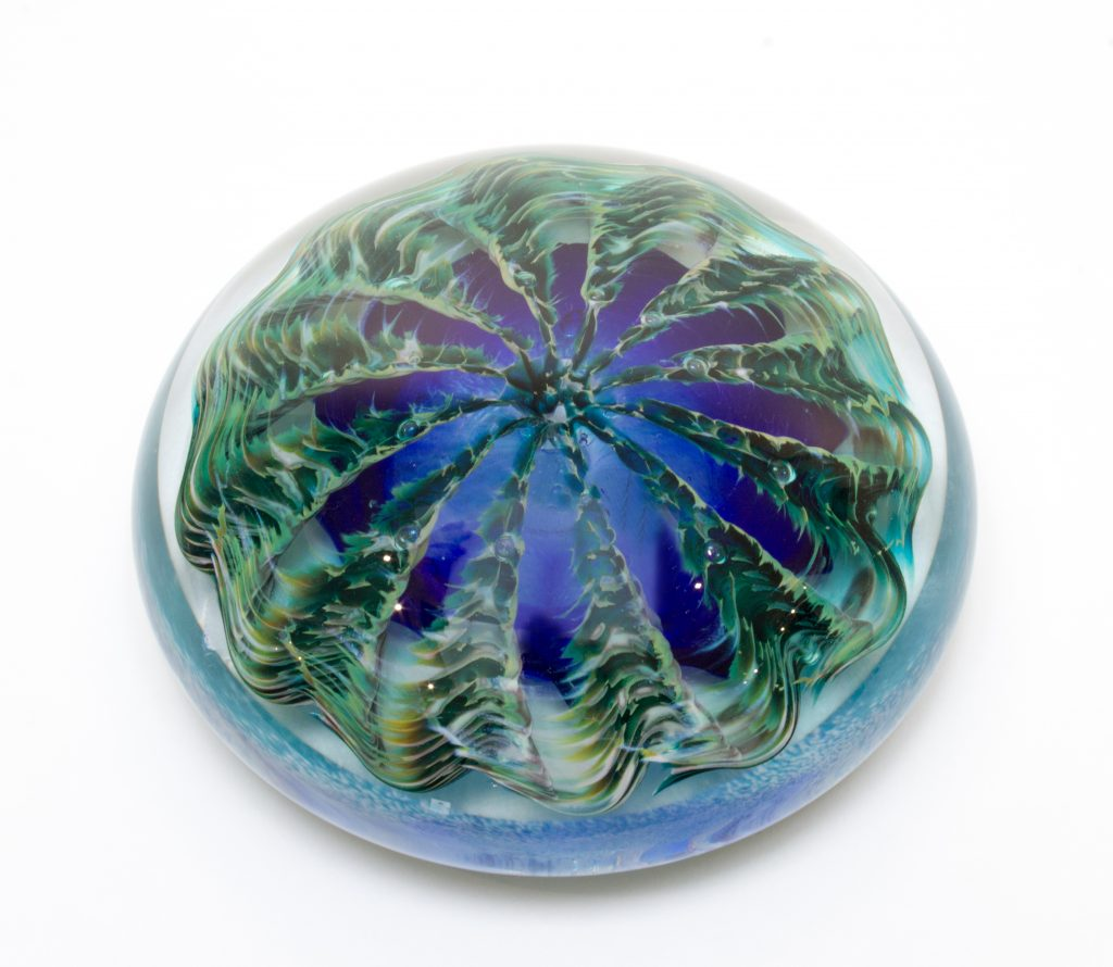 Blue & Green Paperweight