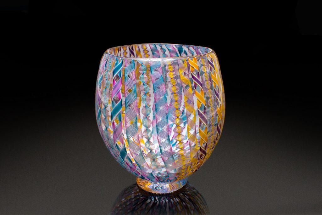 Multi-Colored Zanfirico Bowl