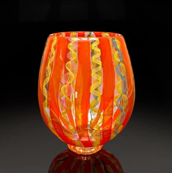 Orange & Yellow Zanfirico Bowl