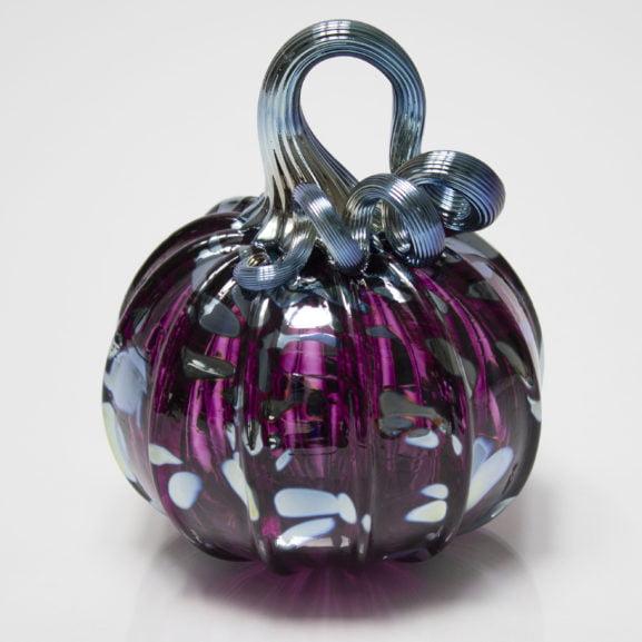 Violet Silver Pumpkin