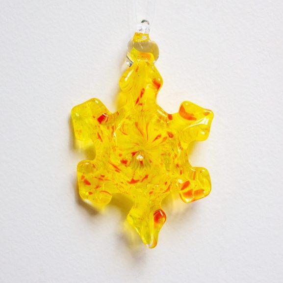 Sunshine Snowflake Ornament