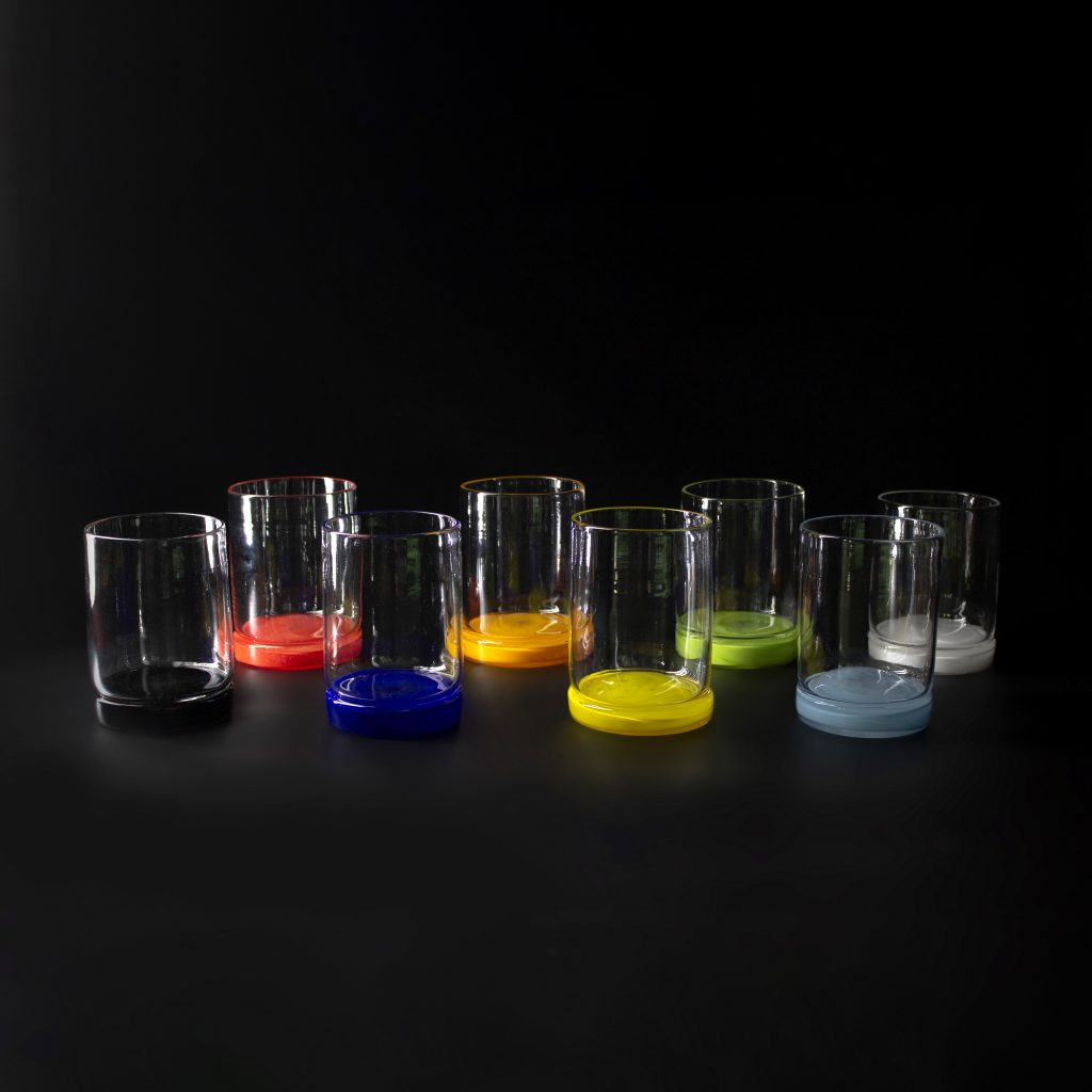 Colored Rocks Glasses