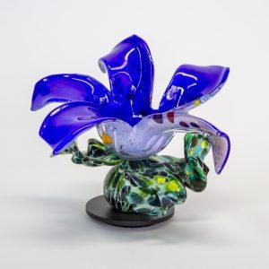 Blue Speckled Flower