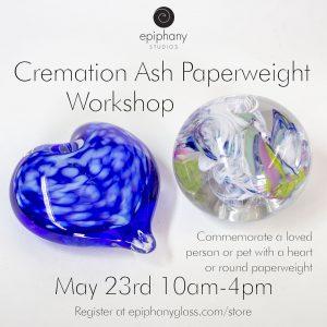 Cremation Ash Paperweight Workshop
