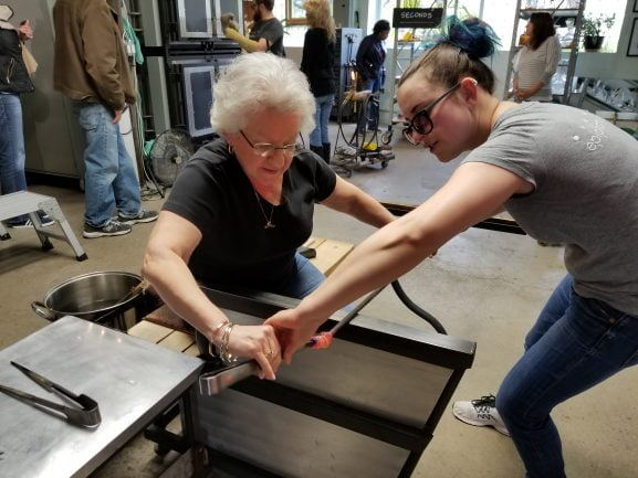 People of all ages enjoy our hands-on workshops
