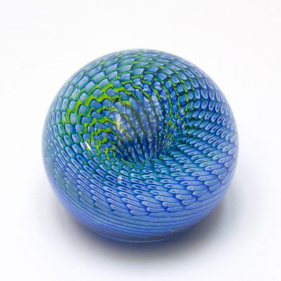 Blue Rattler Paperweight