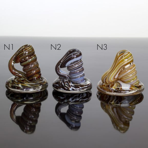 Neutral Swirl Pen Holders