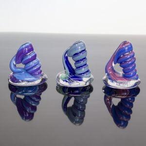 Blue Swirl Pen Holders