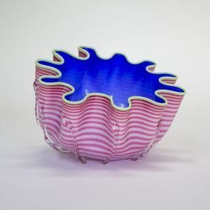 Pink & Blue Splash Bowl