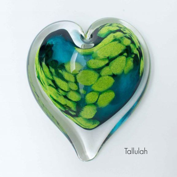 Tallulah Heart Paperweight