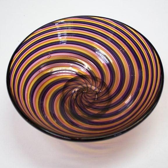 Pink, Purple & Orange Zanfirico Bowl