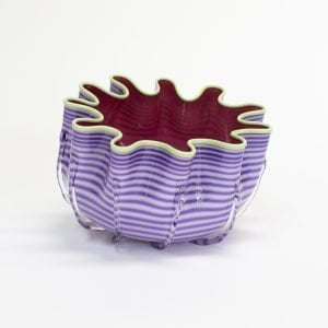 Purple & Pink Splash Bowl
