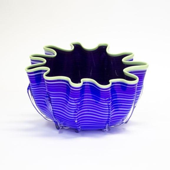 Blue & Purple Splash Bowl