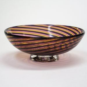 Pink, Purple & Orange Zanfirico Bowl