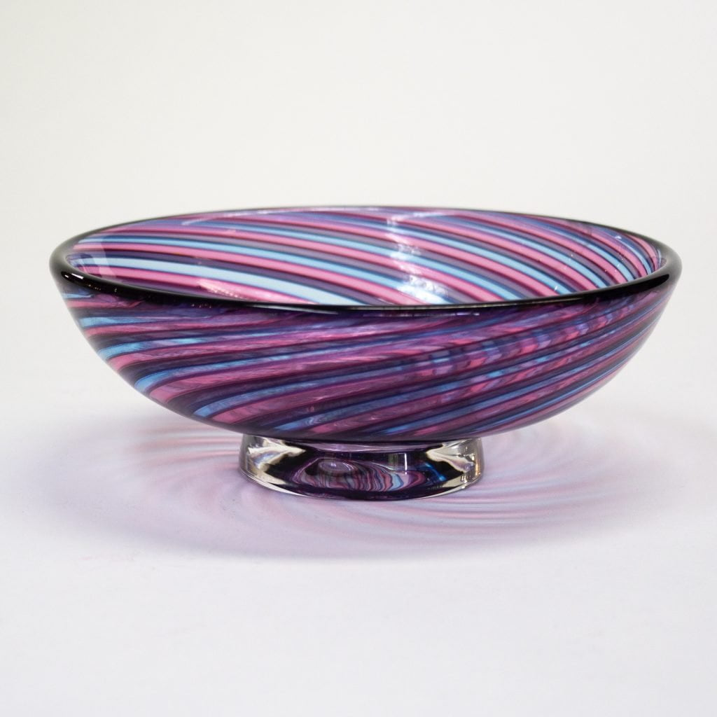 Pink & Blue Zanfirico Bowl