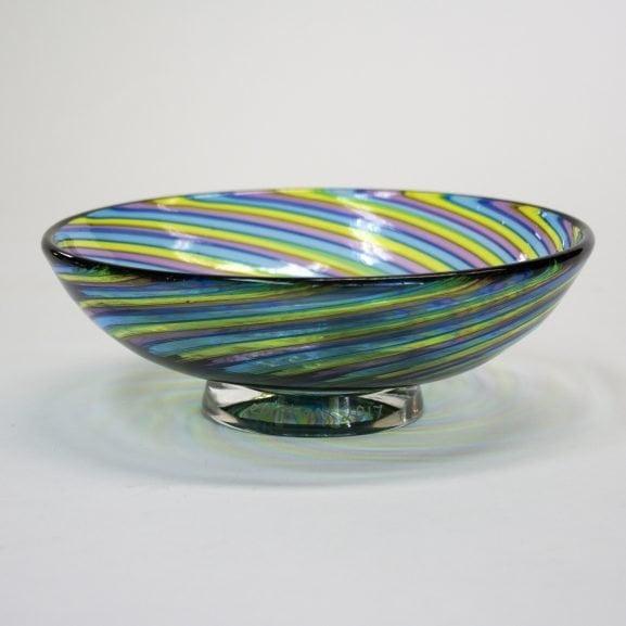 Rainbow Zanfirico Bowl