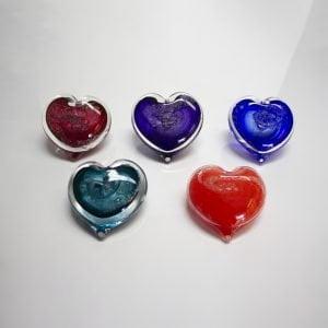 Memorial Heart Paperweights