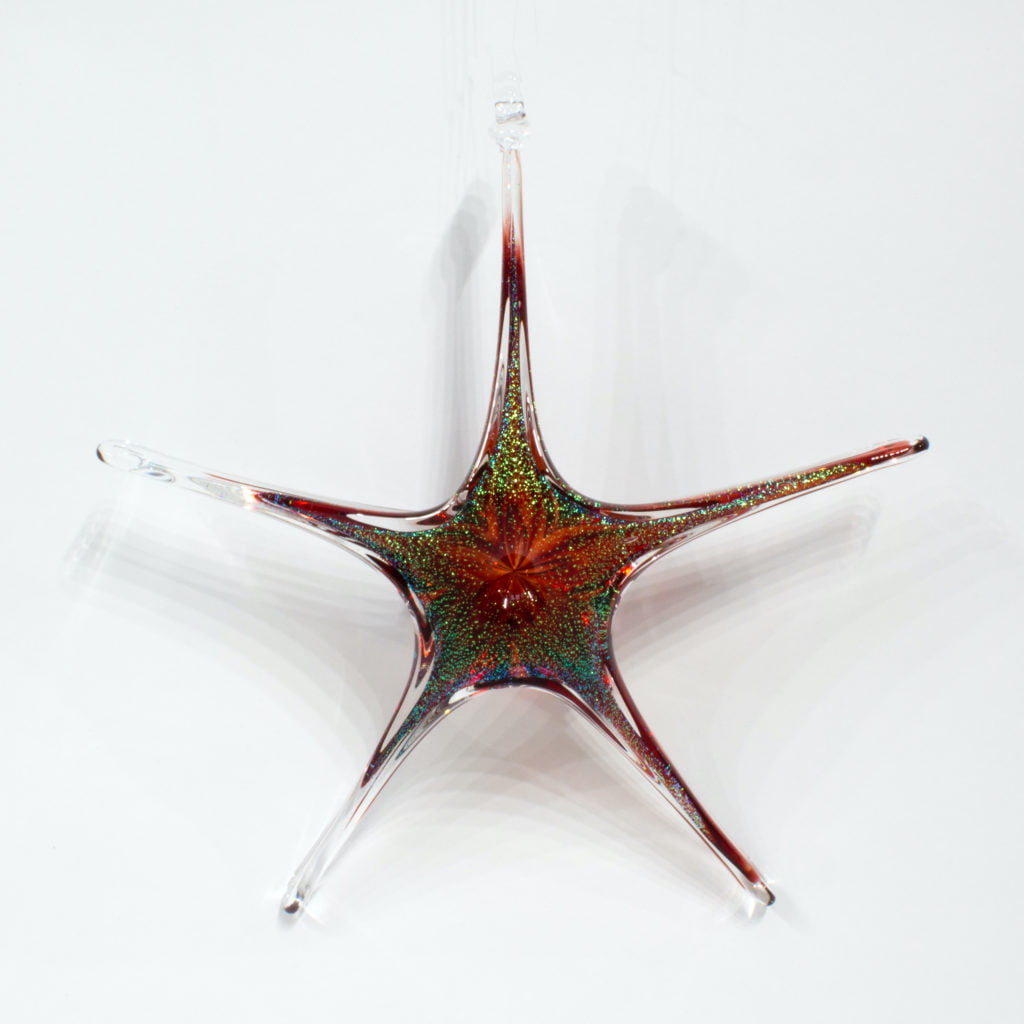 Copper Ruby Star
